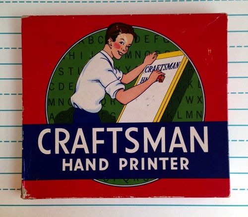 Craftsman Hand Printer